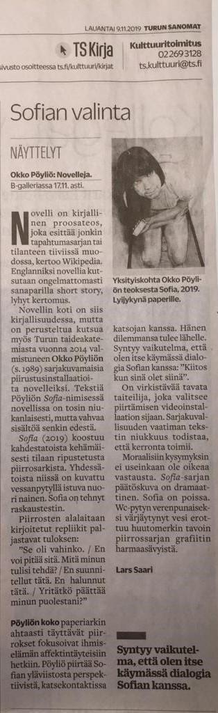 TS kritiikki Lars Saari 9.11.2019 Web
